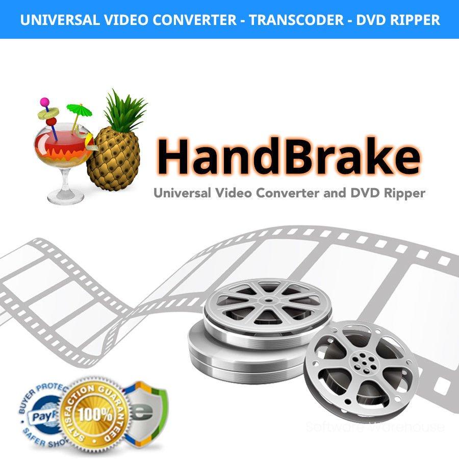 Handbrake Video Converter Windows Mac
