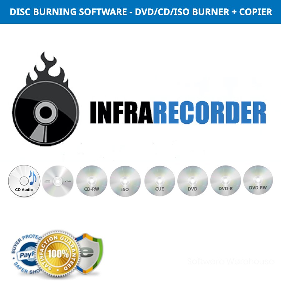 InfraRecorder for Windows