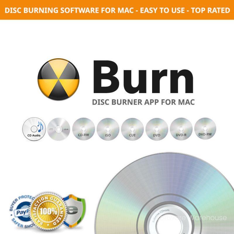 Burn CD Burner for Mac
