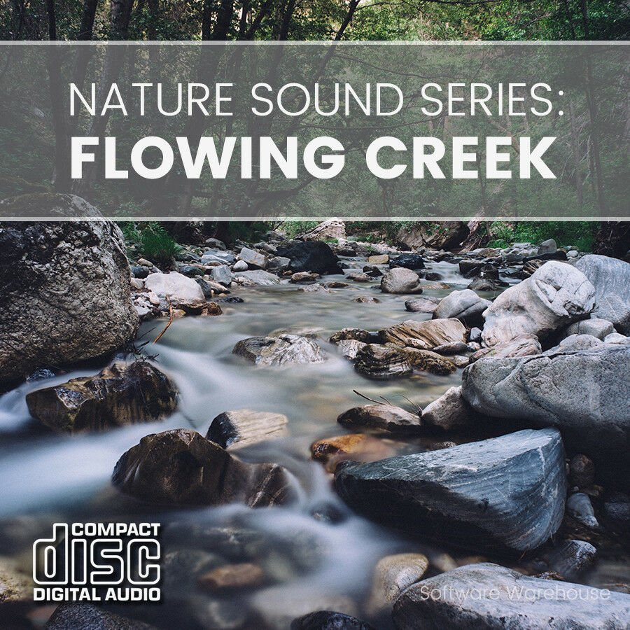 Nature Sound Series - Flowing Creek CD