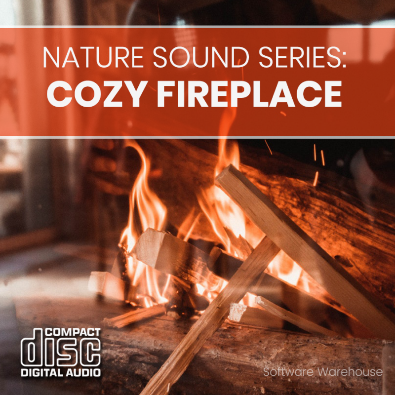 Nature Sound Series – Cozy Fireplace CD