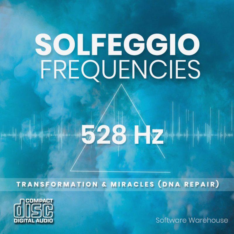Solfeggio Frequencies – 528 Hz CD