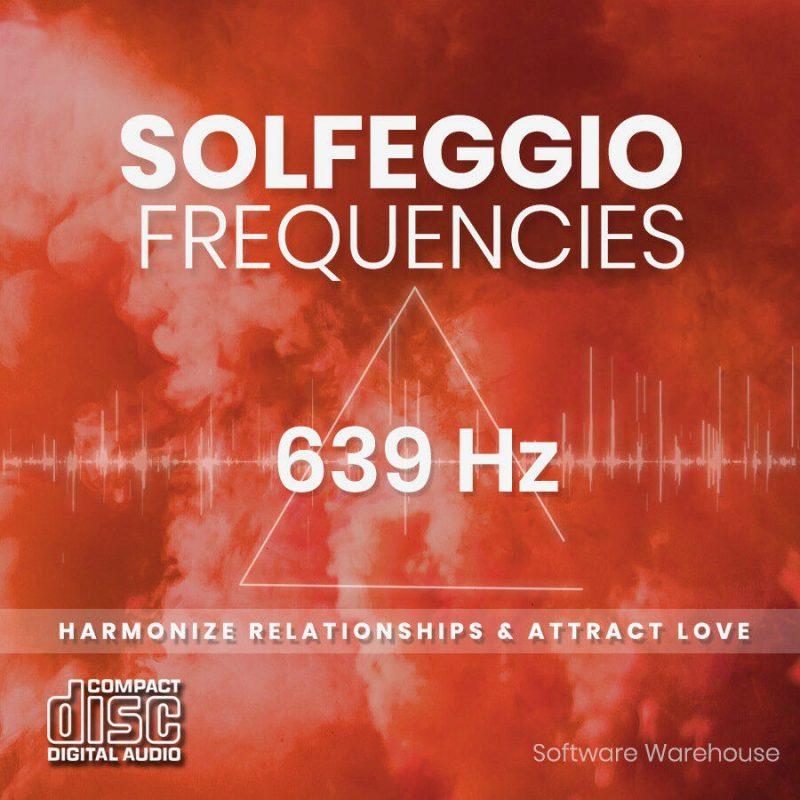 Solfeggio Frequencies - 639 Hz CD