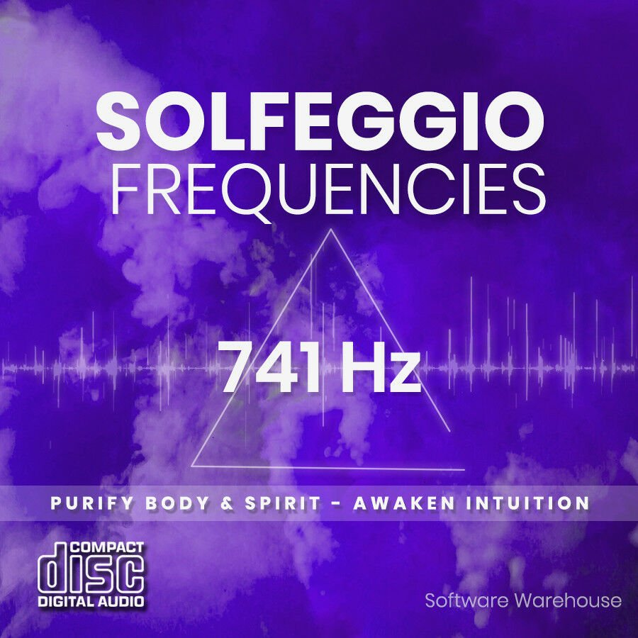 Solfeggio Frequencies - 741 Hz CD