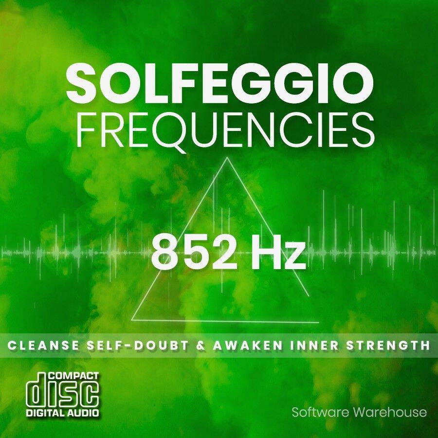 Solfeggio Frequencies - 852 Hz CD
