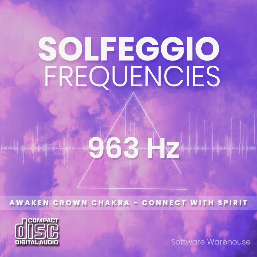Solfeggio Frequencies - 963 Hz CD